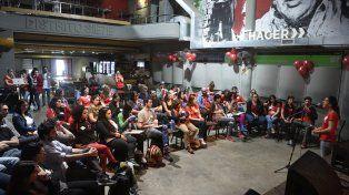 Profesores de los bachilleratos populares de Rosario y Santa Fe.