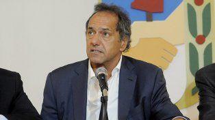 Scioli: El peronismo se tiene que reorganizar para ayudar a sacar adelante al país