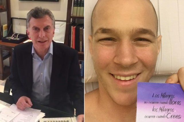 Macri sorprendió con un mensaje de apoyo para el rosarino Lichu Zeno