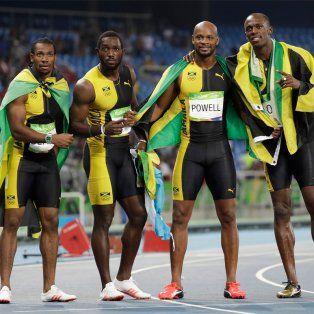 bolt se impuso en el 4x100 con jamaica y se despide con nueve oros olimpicos