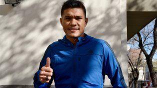 El delantero colombiano anotó el único gol de la victoria frente a Colón.