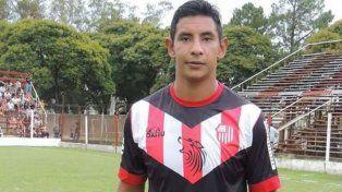 Lucas Rivero sufrió una fuerte contusión en la cabeza y se recuperó en el hospital.