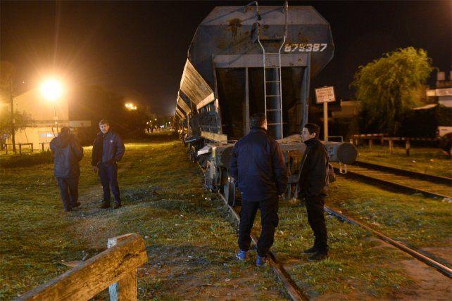 Una mujer y su beba sufrieron heridas tras ser embestidas por un tren en zona oeste