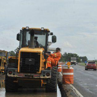 Constructores. Los trabajos en la red vial forman parte de los planes de inversión a nivel nacional y provincial. También hay proyectos para financiar obras de públicas.