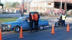 En las calles. Las autoridades buscaron redoblar esfuerzos luego de una semana cargada de violencia.
