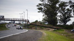 Zona caliente. La provincia quiere construir un muro en la autopista a Córdoba para evitar los robos.