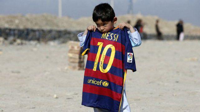 Anhelo. Un niño de Medio Oriente