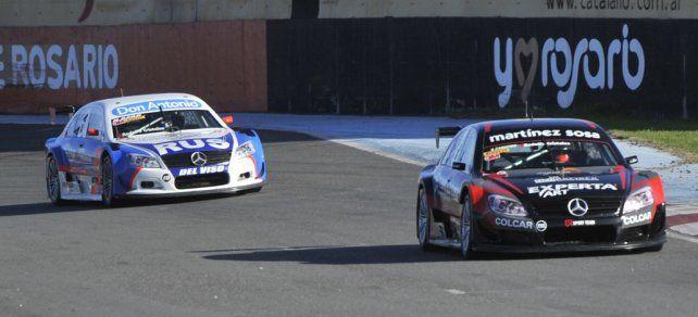 Adelante. Canapino había finalizado segundo en la clasificación a bordo del Mercedes que alista el Sportteam.
