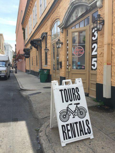La historia de New Orleans se conoce y aprecia mejor sobre dos ruedas