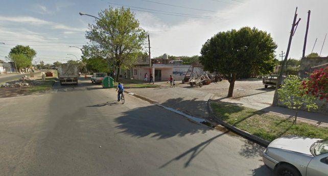 La nena denunció que fue secuestrada en la zona de Avellaneda y Dr. Riva.