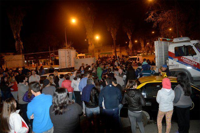 Vecinos de zona norte se manifestaron por la inseguridad y volverán a reunirse el jueves