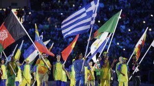Los abanderados se despiden de Rio 2016.