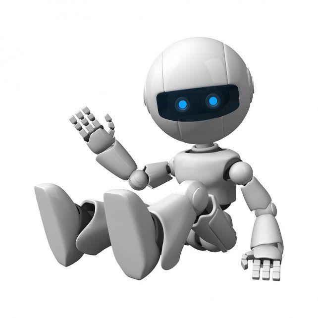 robot. Facebook suma los bots en una nueva forma de comunicación.