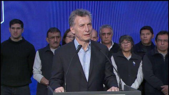 Macri citó a Perón, pidió más esfuerzo por el cambio cultural y criticó a los que ponen palos en la rueda