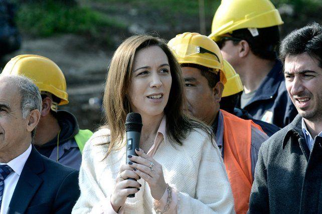 Reforzaron la seguridad de María Eugenia Vidal ante una amenaza de reventar el gobierno