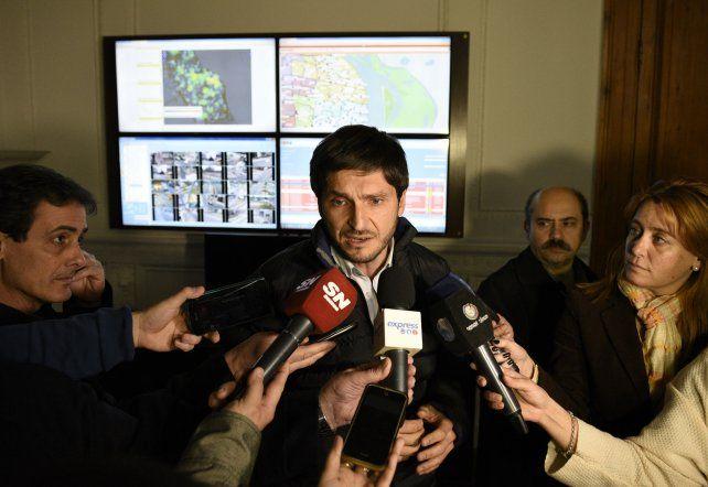 El ministro de Seguridad de la provincia