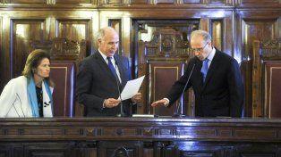 Juan Carlos Rosenkrantz juró hoy como nuevo integrante de la Corte Suprema de Justicia.