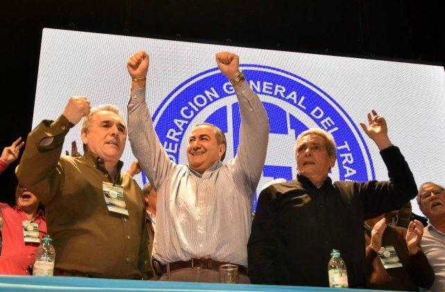 El sindicalismo peronista reunificó a la CGT y criticó la política económica del gobierno