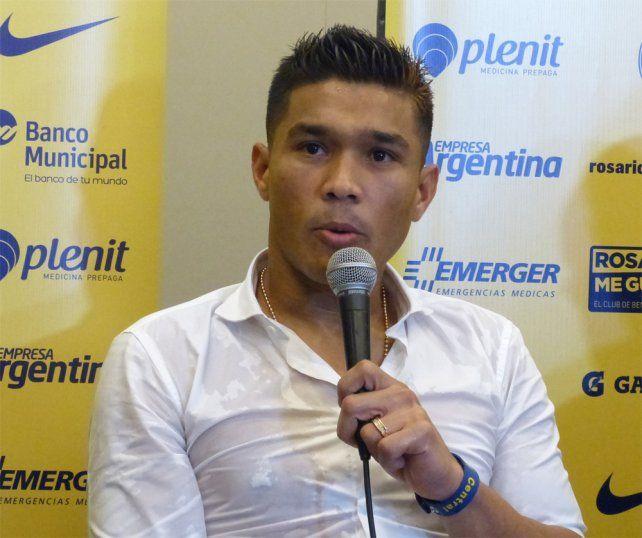 Teo Gutiérrez: Vengo a Central con la ilusión y el deseo de ganar un campeonato