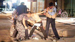 A tiempo. La policía kurda interceptó y desarmó el chaleco explosivo que portaba el chico en Kirkuk.