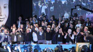 Multitud. Más de 1.500 delegados participaron del congreso que consagró a la nueva conducción cegetista.
