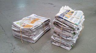 Un hombre fue acusado de robar 160 atados de diarios por los cupones