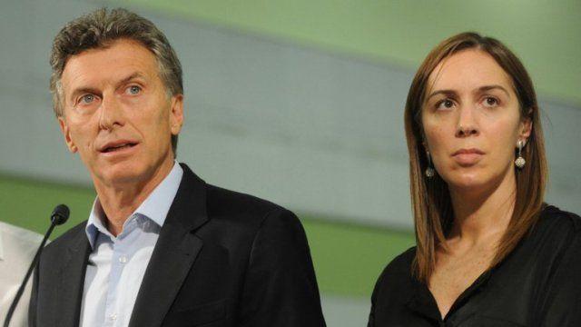 Macri respaldó a la gobernadora Vidal.