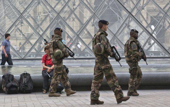 París fue escenario de varios atentados terroristas el año pasado.