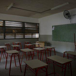 Huelga. Habrá aulas vacías, como al comienzo del ciclo lectivo.