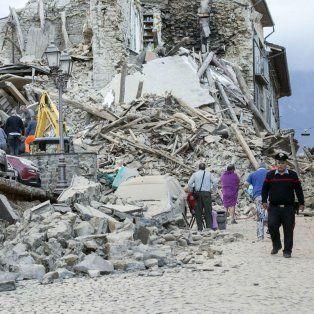 tras el devastador terremoto se registraron cerca de un centenar de replicas