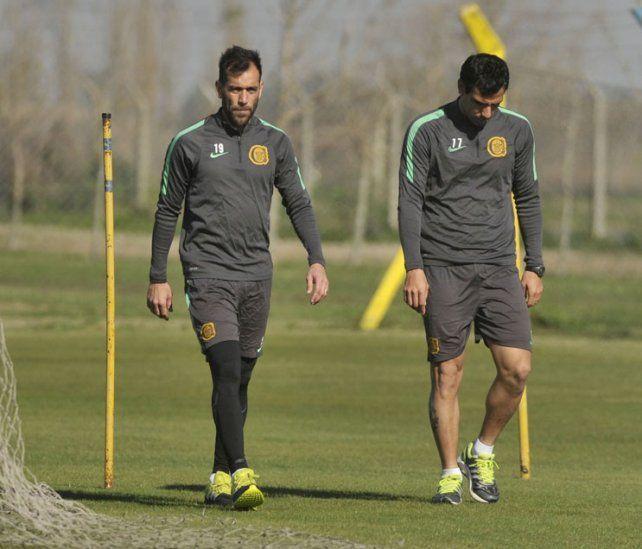 Delgado y Herrera se entrenaron ayer de manera diferenciada.