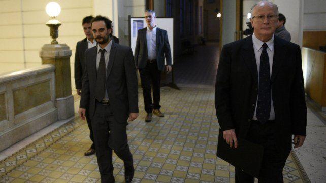 Los principales autoridades del Ministerio Público de la Acusación