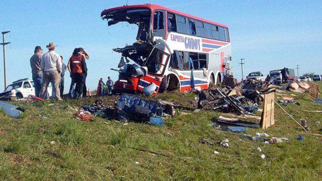 La tragedia ocurrió sobre la ruta nacional 11 en octubre de 2006.