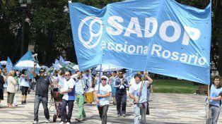 Sadop pidió que el Ministerio inspeccione colegios por el paro y los mandaron a hacer piquetes