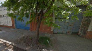 La balacera se registró esta tarde en San Nicolás al 2400.