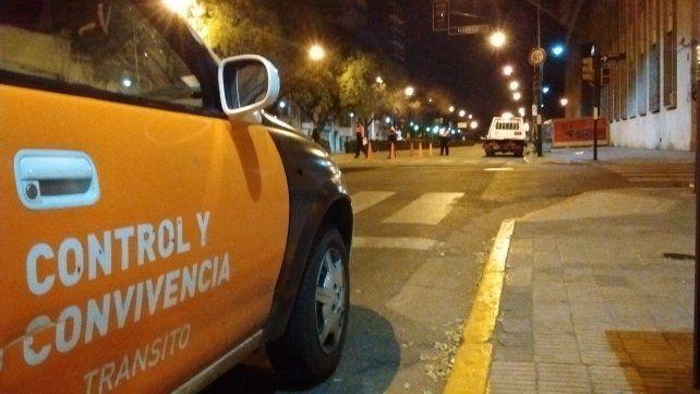 Los controles vehiculares se registraron en distintos puntos de la ciudad y continuarán hoy.