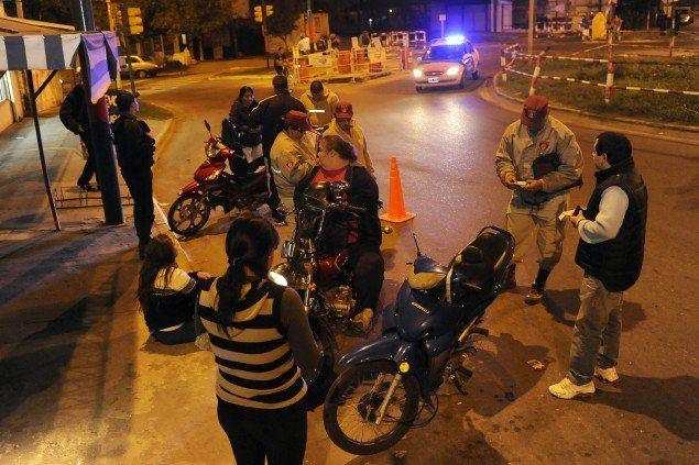 Ochenta motos fueron remitidas al corralón tras la intensificación de los controles vehiculares por parte del municipio