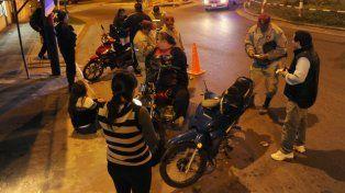 Ochenta motos fueron remitidas al corralón tras la intensificación de los controles vehiculares