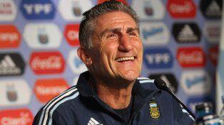 El entrenador Edgardo Bauza se mostró muy conforme con el apoyo que los jugadores de la selección le dieron a su gestión.
