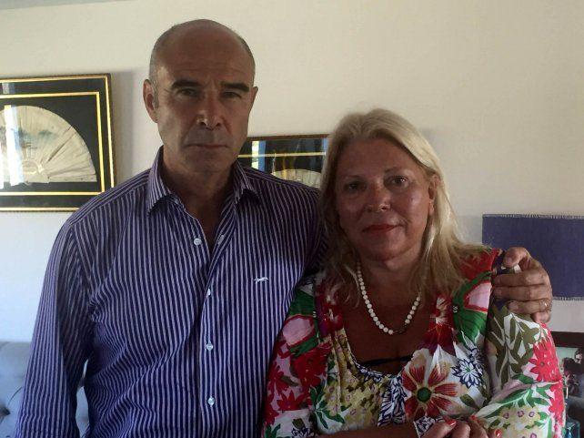 El suspendido funcionario se reunió ayer con la líder de la CC-ARI.