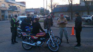 en foco. Los motociclistas serán objeto de múltiples chequeos.