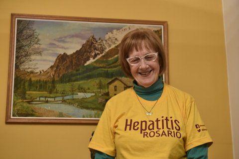 Incansable. Edith Michelotti se sometió a un nuevo tratamiento que eleva al 98 por ciento las chances de curarse de la enfermedad.