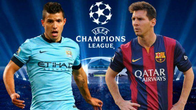 Messi y Agüero comparten el mismo grupo en la Liga de Campeones