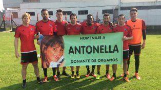 Los jugadores de Newells se sumaron la campaña Yo también soy donante.