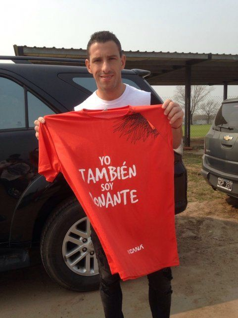 Maxi Rodríguez se sumó a la campaña Yo también soy donante.