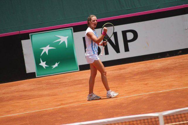 La rosarina Nadia Podoroska pasó la qualy y jugará el US Open por primera vez