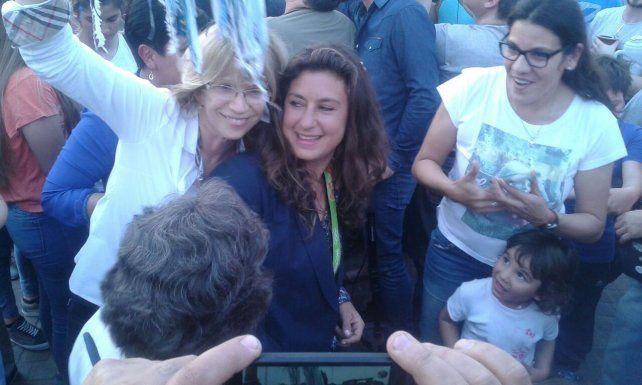 Cecila Carranza Saroli tuvo su bienvenida en Rosario tras conseguir el oro olímpico en Río