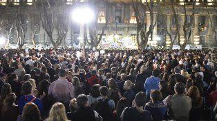 El diario El País se hizo eco de la marcha de ayer en reclamo por más seguridad y justicia