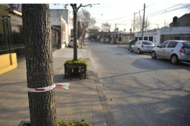 zona sur. Los ladrones se tirotearon con los policías en Pavón al 5300 y fueron cercados en Ayacucho e Ivanowski.