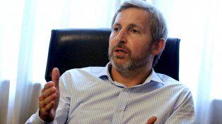 Imputación. Frigerio apuntó que el sector más duro del kirchnerismo quiere que a Macri le vaya mal.